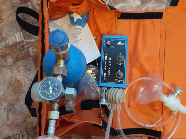 аппарат ивл - искуственной вентиляции легких модель дар новый в наличии в красноуфимске, есть достав