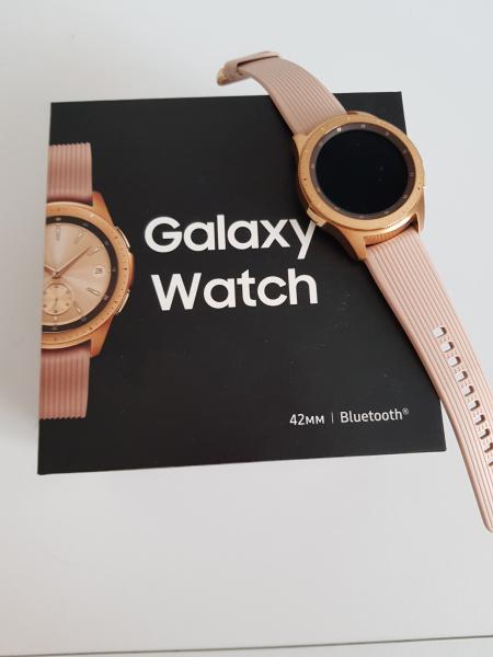 Часы Samsung Galaxy Watch в о/с, полный комплект