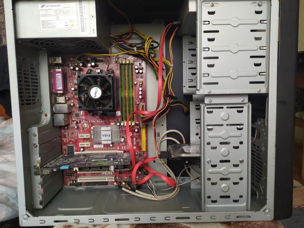 Хороший компьютер для работы или учебы и для парочки не требовательных игр. Описание. Процессор: a