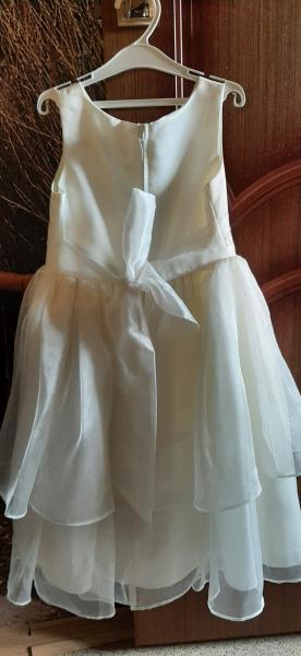 Платье на праздник 6-7 лет, цвет чайной розы, одели 1 раз. Произведено в США