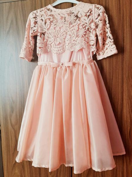 Платье нарядное, на 6 - 7 лет