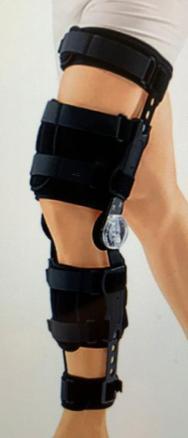 Подаётся коленный ортез с регулятором объема движения предназначен для восстановительного лечения по
