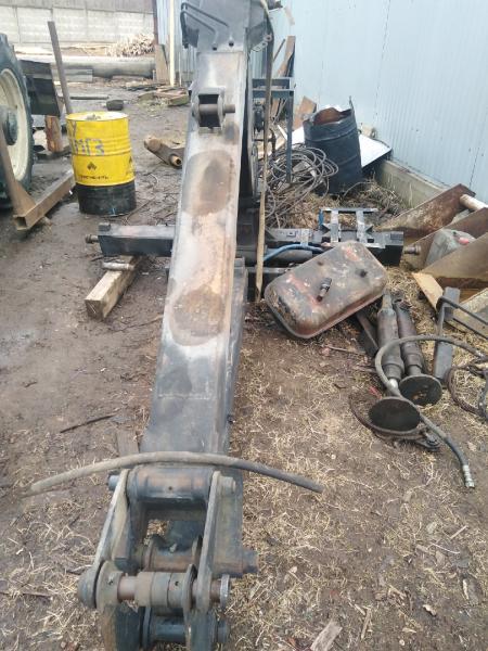 Подом. грейферная установка на зил, газ