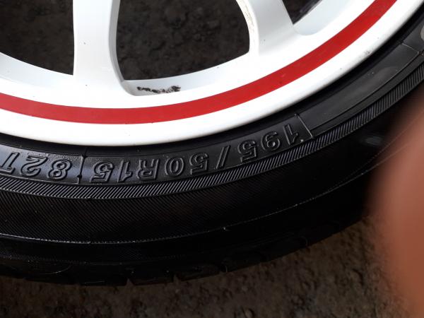 Продам диски слик р15 с колесами екохама 195 50 р15