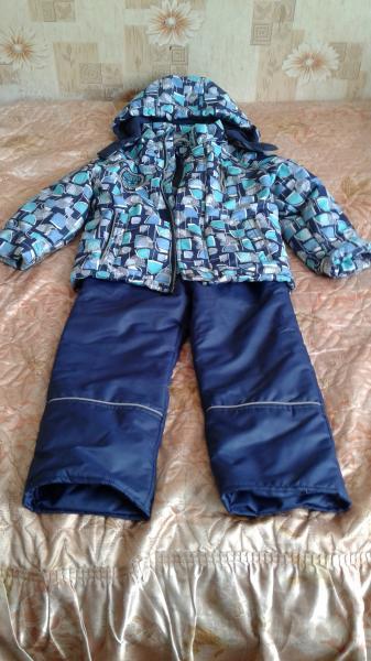 Продам костюм на мальчика, весна- осень, рост 110, шапка в подарок
