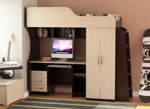 Продам кровать-чердак Кровать на фото точно такая же  Только цвет другой