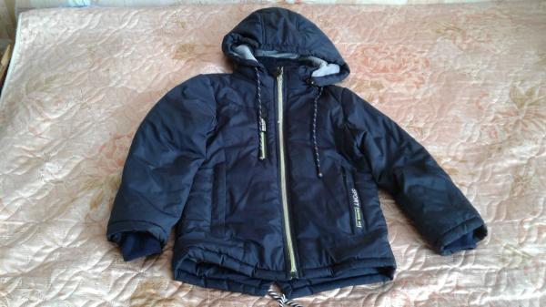 Продам куртку-парку на мальчика, весна-осень, рост 110