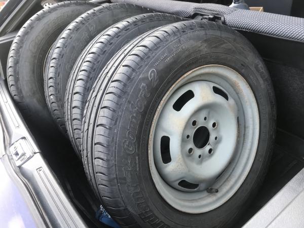 Продам летние колёса 175/65/13 Cordiant comfort 2. В ид/с, пробег меньше одного сезона!