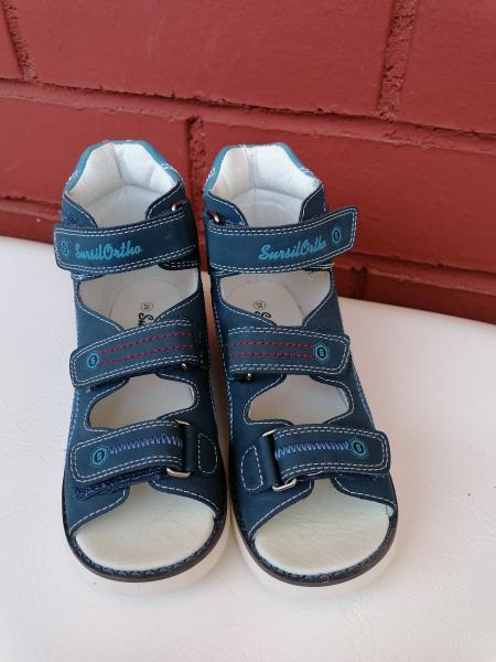 Продам летние ортопедические сандалии фирмы Sursil-ortho 15-255s, р-р 29. Длина стопы~19,5 см. Новые