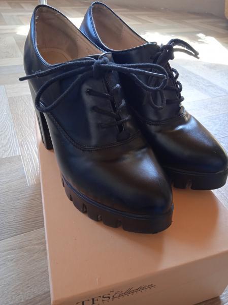 Продам обувь 37р, первые из натуральной кожи, обе пары за одну цену