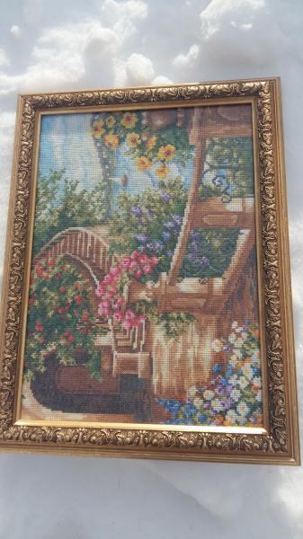 Продам очень красивую оригинальную картину - ручная вышивка