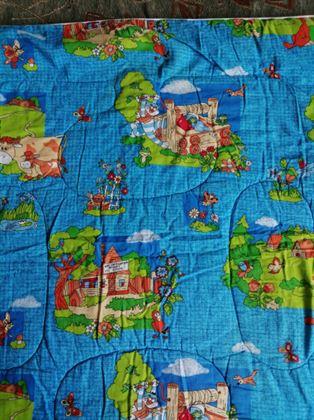 Продам одеяло детское стеганое. 118#118 р-р. В х/c