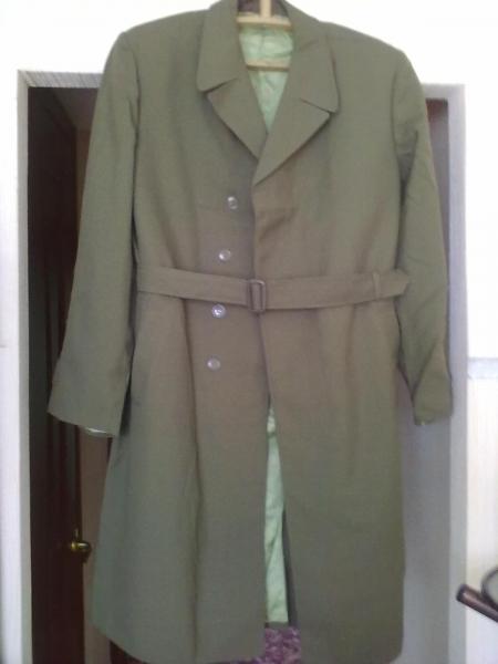 продам пальто военное демисезонное новое, р-р 50 рост 3