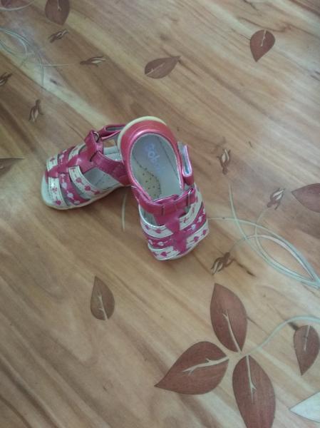 Продам сандалии 22 р-р в о/с не успели поносить