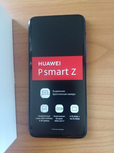 продам Смартфон Huawei P Smart Z новый не пользовались магазинная цена 11600  Поддержка сетей 3G П