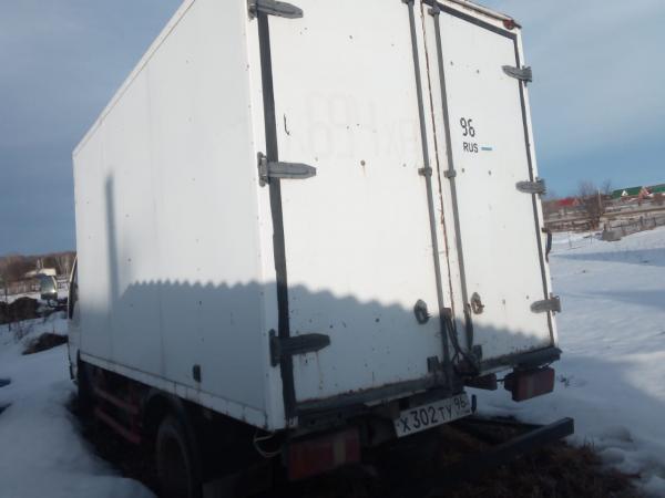 Продаётся FAW, 2007 г. грузовой фургон, категория В, мощность двигателя 90(66),рабочий объём двигате