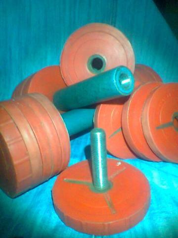 советские наборные гантели 6 кг